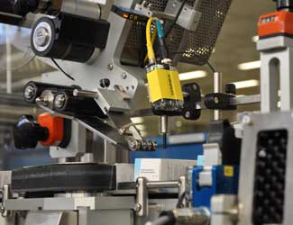 Nattermann packaging inspection using cognex dataman