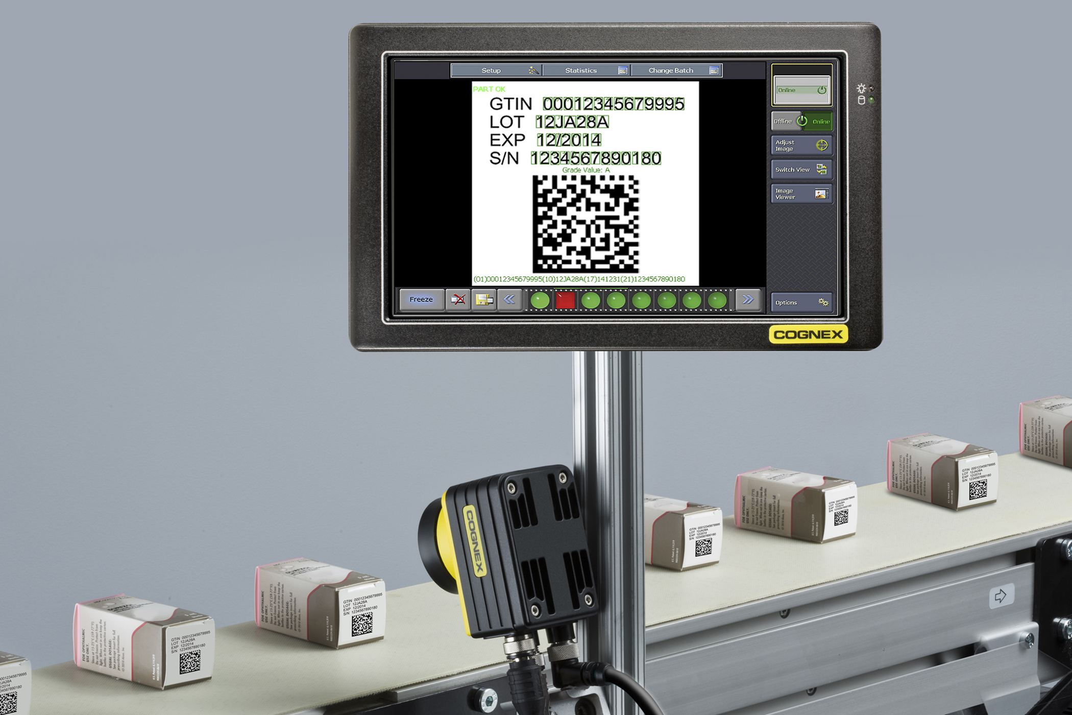 insight track and trace packaging identification screen verification