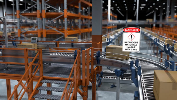 automated inspection of shipping and hazmat labels