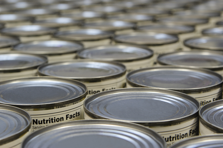 canned food production