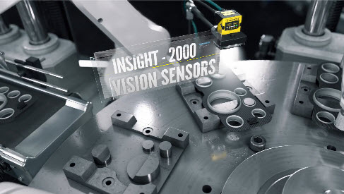 Cognex In-Sight 2000 vision sensors inspect automotive dashboard panel assemblies