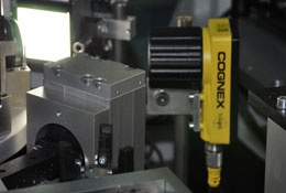 up close cognex camera at ETO Magnetic