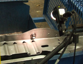 Ice Industries using cognex vision system to inspect nut and bolt assembly