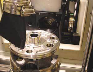 In-Sight verifying 2D laser marked codes on metal