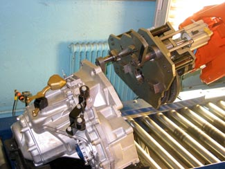 SAAB Sweden robotic assembly and cognex insight inspection