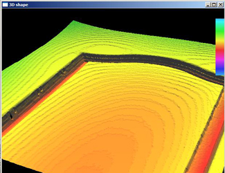 Masonite IRE Building Products 3D shape in heatmap software