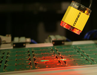 Samsung electronics manufacturing inspection with cognex dataman 150