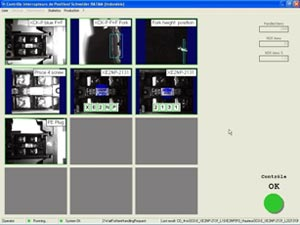 Schneider Electric 7 inspection images all okay in software
