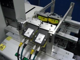 Sony Electronics using 4 cognex insight cameras for different electronic defect detections