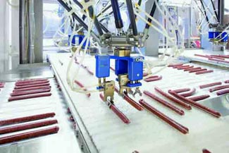 Unilever using cognex vision to guide picker robot arms