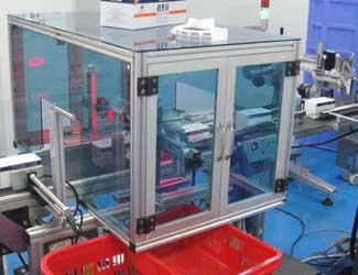 Bios Time packaging inspection chamber