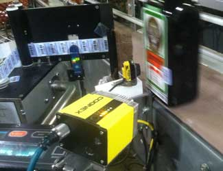 Goody Goody Liquors Inc using cognex system inspect jager bottles
