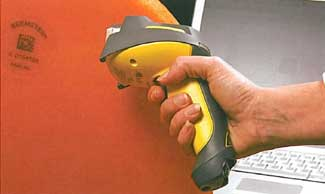 Het Kaasmerk using cognex 8070 handheld barcode reader for 2D code
