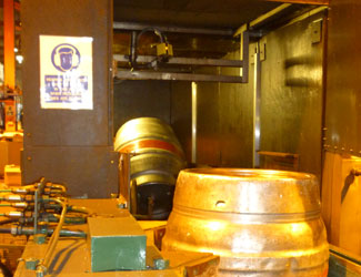 Everards Brewery cognex dataman checking kegs for defects