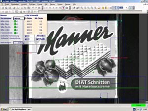 Josef Manner Group using cognex insight explorer software for wafer bar packaging