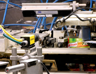 Knorr packaging seal inspection by insight 8000 camera