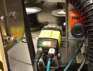 Kraft Canada manufacturing using cognex cameras for quality assurance