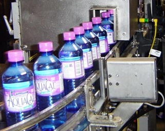Meridian Beverage Co aquacal beverage manufacturing inspection by cognex