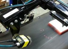 Carter Controls manufacturing conveyor cognex high speed barcode reading