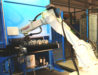Tiesse Robot part location for vision guided robotic applications