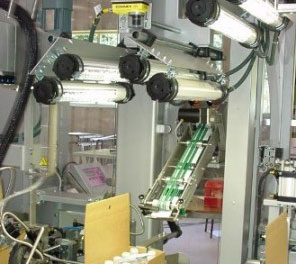Cermex product packaging inspection added lighting cognex insight 5705 series