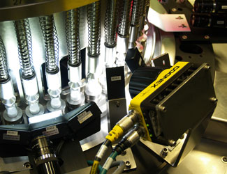 EISAI Machinery mounted cognex insight series inspecting