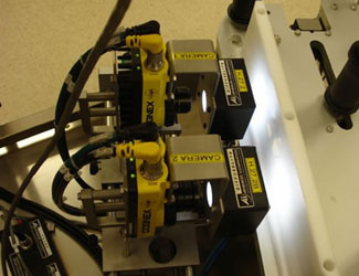 Cognex In-Sight cameras 1 and 2 boot quality for pharmaceutical manufacturer