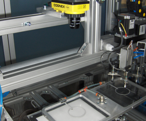 2BG clear product inspection by cognex 5705 insight series