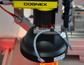 Mondragon Assembly Cognex insight series doal red light inspect