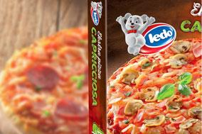 Ready-Meals ledo frozen pizza box