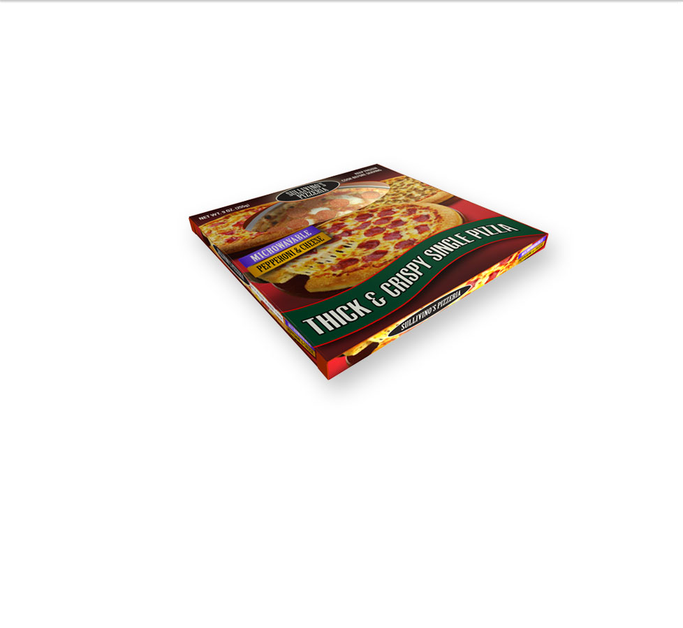 ready meal packaging for pizza