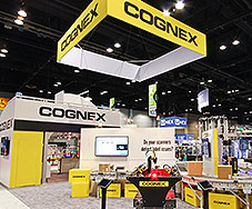 Cognex Trade Show Booth