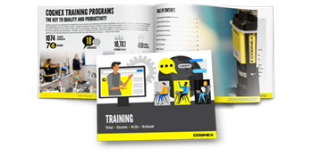 Cognex training guide multiple page open preview