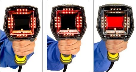 Iluminação ISO do verificador portátil DataMan 8072V