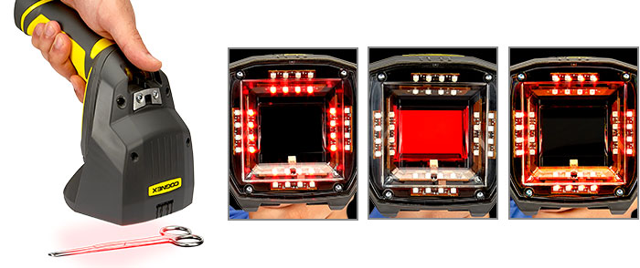 Types d'éclairage pour la vérification des codesDPM