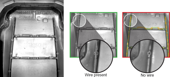 automotive wire inspection