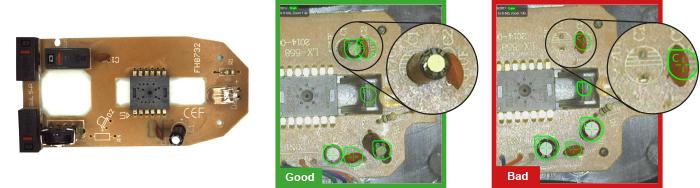 Deep Learning Montageprüfung für die Elektroindustrie