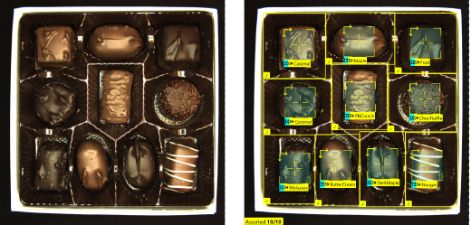 Deep Learning Bestückungsprüfung für die Verpackung