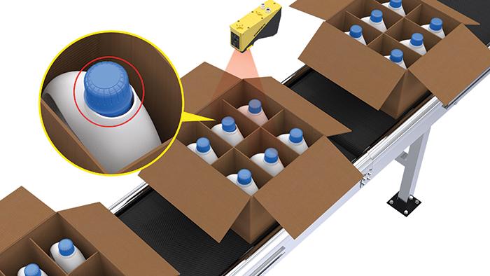 Deep Learning Defekterkennung für die Verpackung