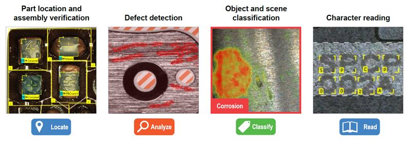 VisionPro Deep learning Tool Screenshots
