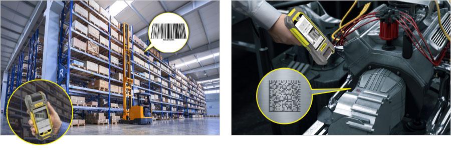 Anwendungen in Warenlagern und in der Automobilbranche