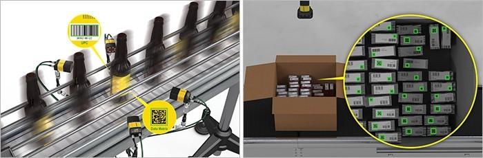 Barcode-Lesen für Verpackungsanwendungen