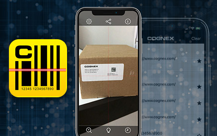 Cognex Barcode Scanners App