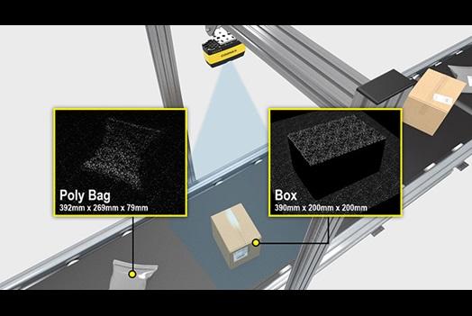 Categorización de producto y paquetes antes del envío