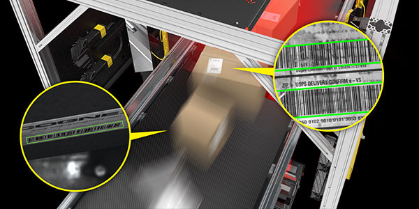 COVID Automation - Fast barcode reading