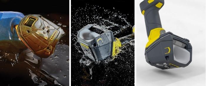 DataMan 8700DX 耐油性、防水、コンクリート落下耐性