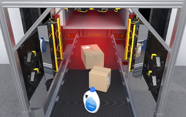 Logistics Point of Sales in DCs - Receive tunnels