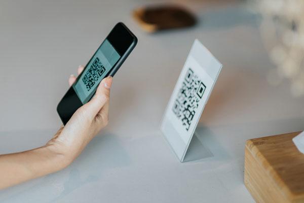 スマートフォンによるバーコードスキャン