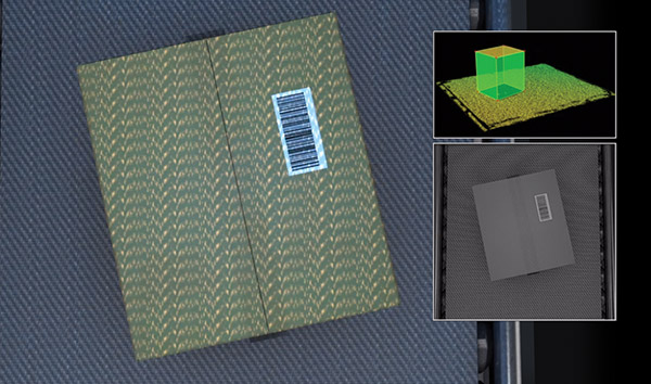 Centri di distribuzione automatizzati - Scansione 3D