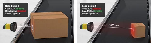 HPIT lighting automatic read setups